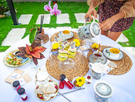 Alice in Wonderland Themed Tea Party- Vegan Style