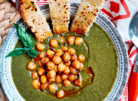 Hearty Spinach Soup