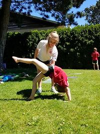 Lion's Pride Gymnastics Camp in Victoria BC