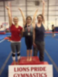 Lion's Pride Gymnastics Advanced classes in Victoria BC