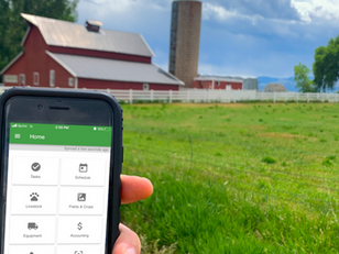 Recording your data, hands free on the farm