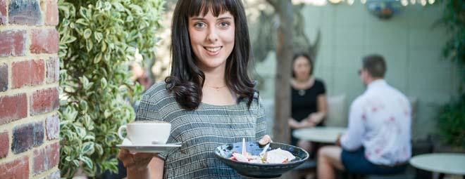 Hospitality jobs are amongst the most popular for international students in Australia. Photo: studyperth