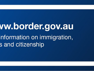 New Website of The Department of Immigration and Border Protection