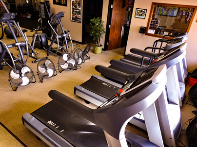 Ellipticals and Treadmills