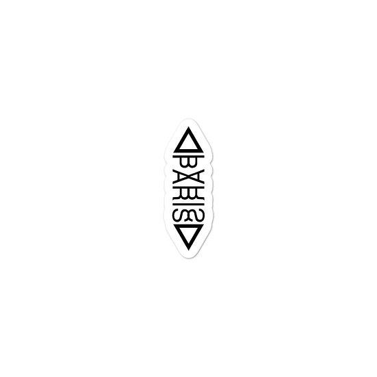Paris Logo sticker