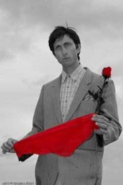 Mitch NB foular rouge