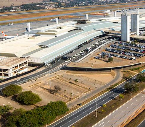 Como chegar ao Br Hostel localizado na Savassi chegando no Aeroporto Internacional de Confins.