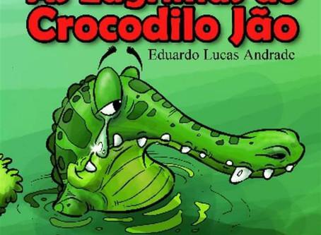 E-book disponível - As Lágrimas do Crocodilo Jão