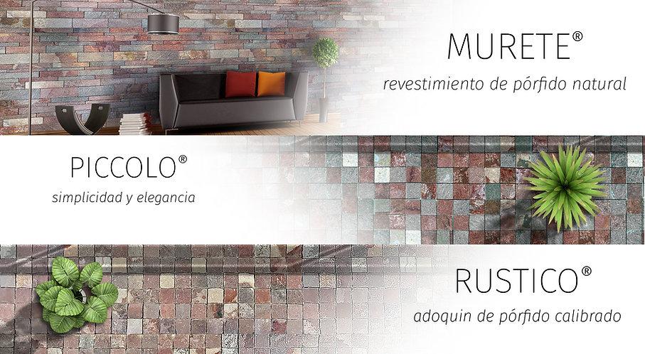 Patagonia Stone - Revestimientos Murete, Piccolo y Rustico