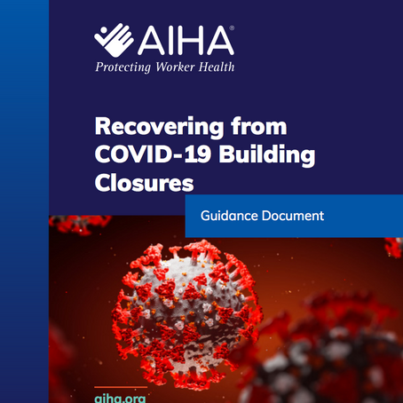 AIHA New Guidance Stresses Importance of Hazardous Condition Assessments for Building Owners
