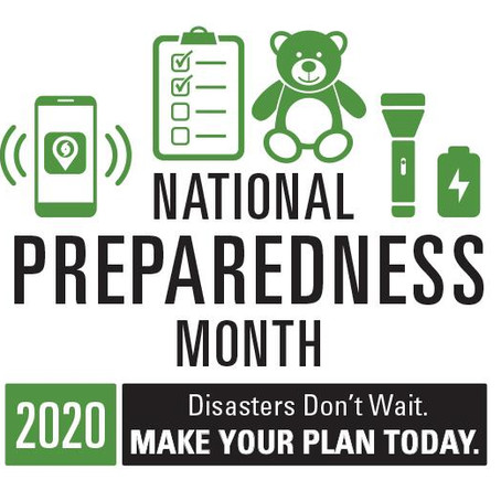 September is Disaster Preparedness Month