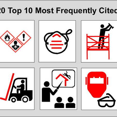 What Were OSHA's Top Cited Standard Violations Last Year?