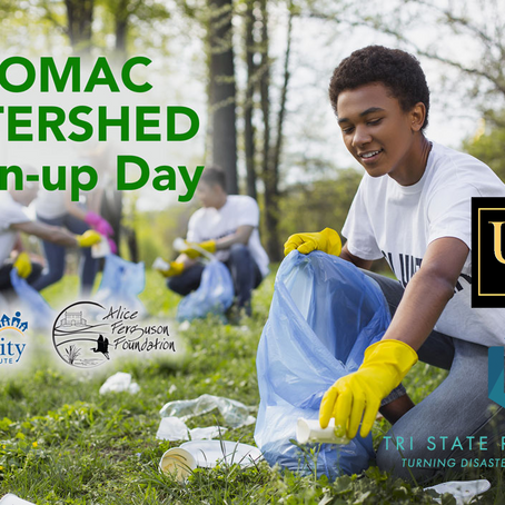 TSR Joins Urbana Highlands Community in Potomac Watershed Cleanup Efforts