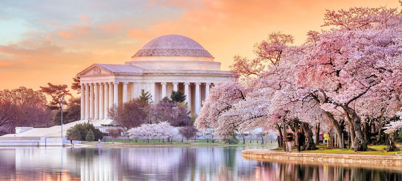 washington dc Jefferson Memorial during