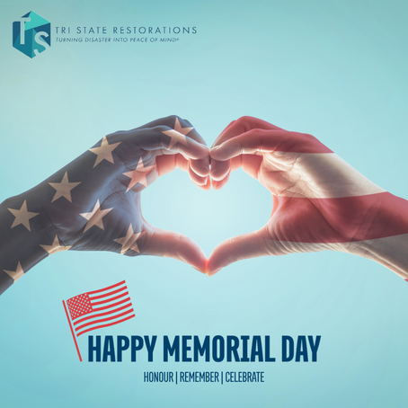 Happy Memorial Day from Tri State Restorations!
