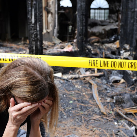 Coping with Fire Damage and Loss