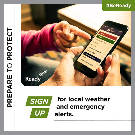 September is Disaster Preparedness Month - Disasters don't wait, Make your plan today!
