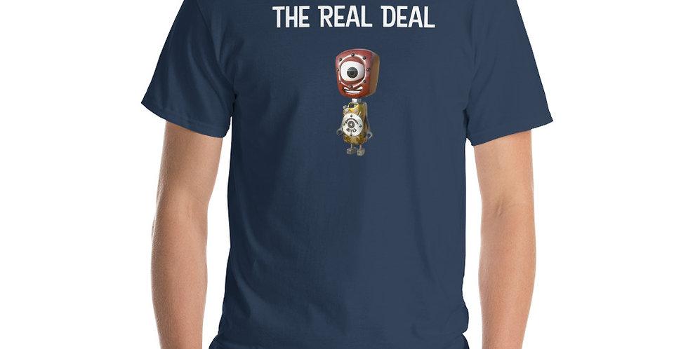 The Real Deal Frankenbots Short Sleeve T-Shirt