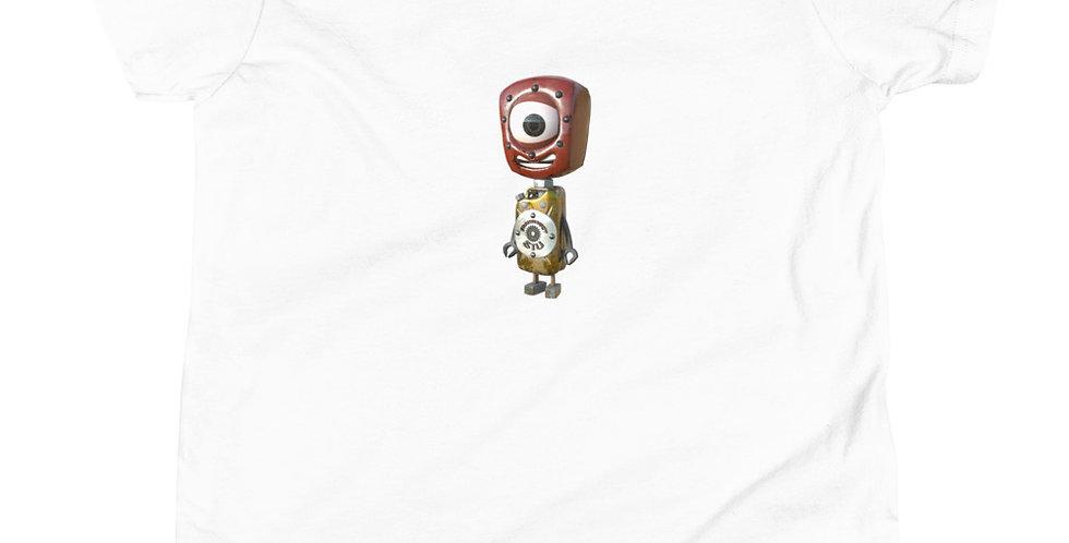 Frankenbot Stu Youth Short Sleeve T-Shirt