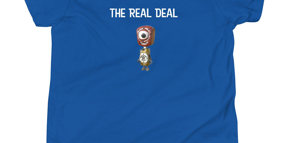 The Real Deal Frankenbots Youth Short Sleeve T-Shirt
