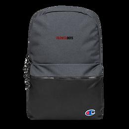 Frankenbots Embroidered Champion Backpack