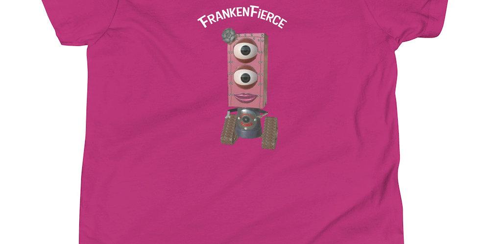 FrankenFierce Frankenbots Youth Short Sleeve T-Shirt