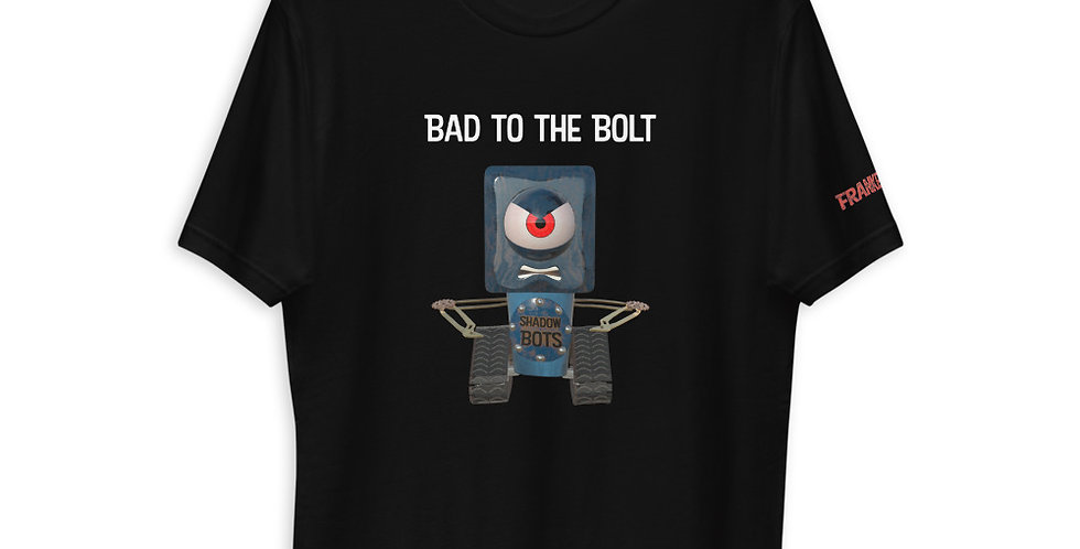 Bad to the Bolt Adults Short Sleeve T-shirt
