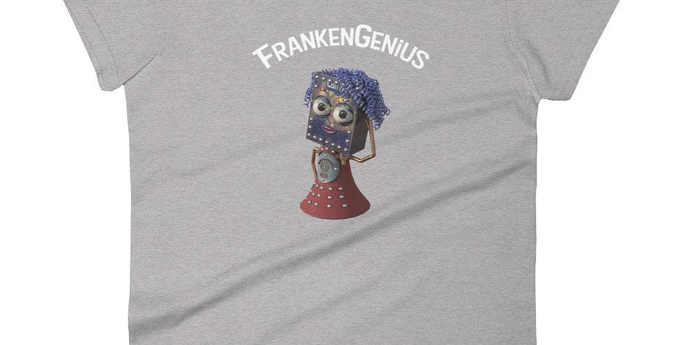 FrankenGenius Frankenbots Women's short sleeve t-shirt