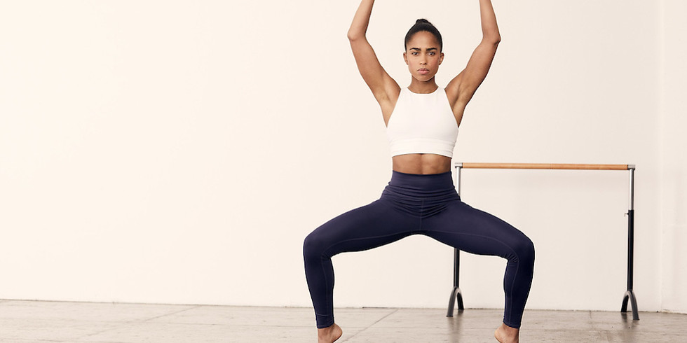 Live Barre with Sweat Trainer Britany Williams - March Meetup