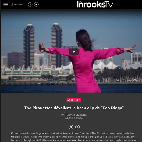 LES INROCKS X THE PIROUETTES