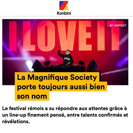 KONBINI X LA MAGNIFIQUE SOCIETY