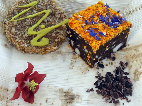 RAW FOOD CAKES FOR EVENTS