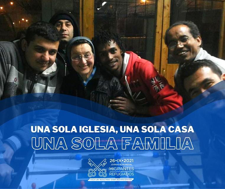 1.Subtema - Una sola Iglesia, una sola casa, una sola familia.png