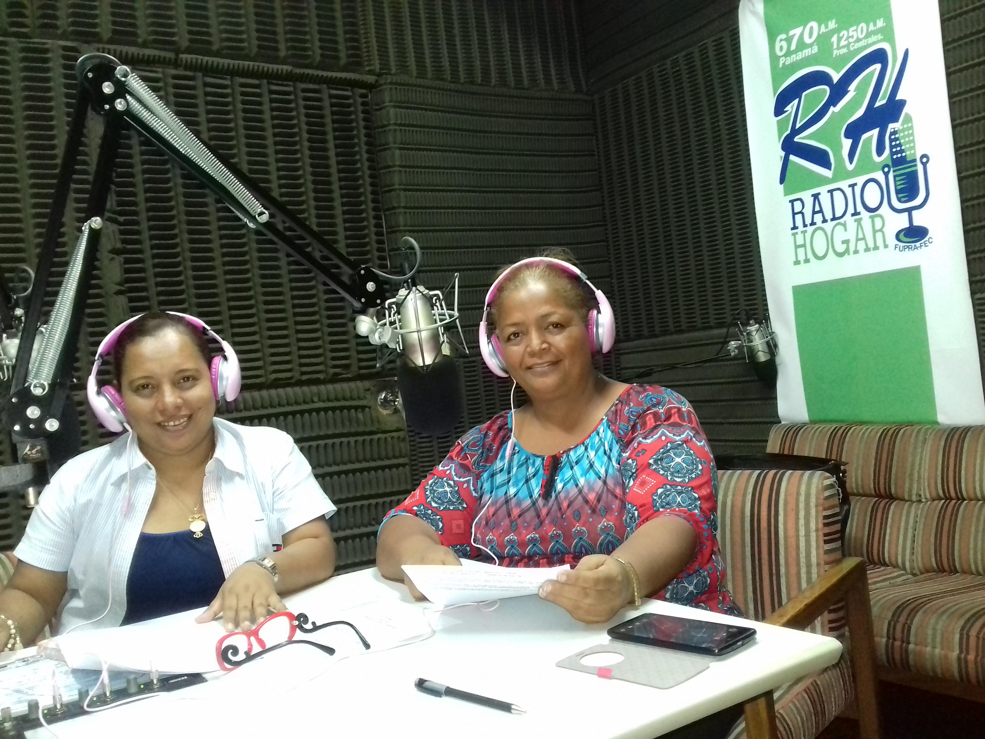 Sensibilización por Radio