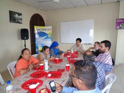 Almuerzo en Hogar Luisa con la Hna. Guadalupe Rodrigo 4