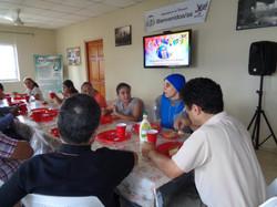 Almuerzo en Hogar Luisa con la Hna. Guadalupe Rodrigo 5