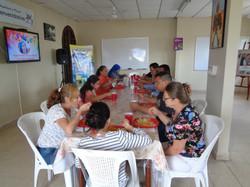 Almuerzo en Hogar Luisa con la Hna. Guadalupe Rodrigo 2