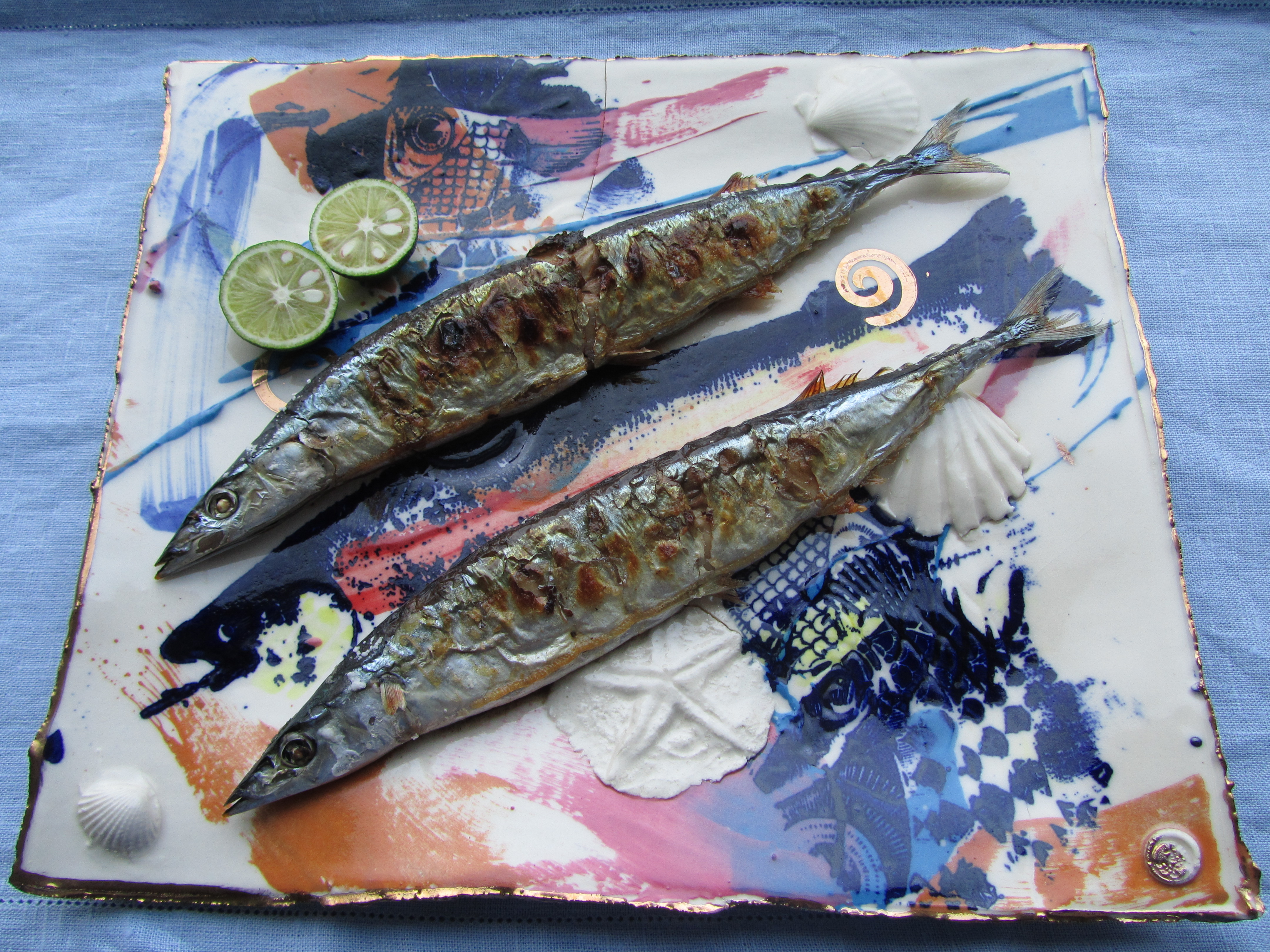 Mami's grilled sanma