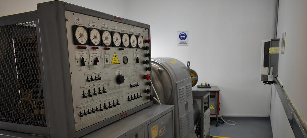 Taller de Generadores en Central Aerospace