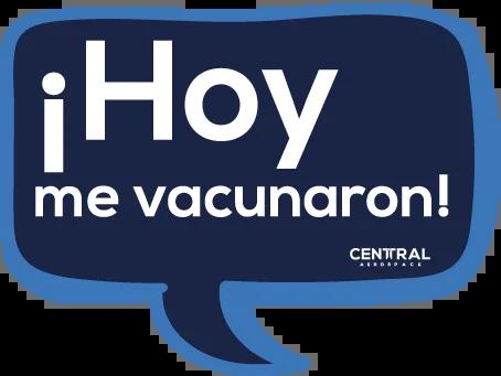Jornada de Vacunación contra el Coronavirus Covid-19 en Central Aerospace