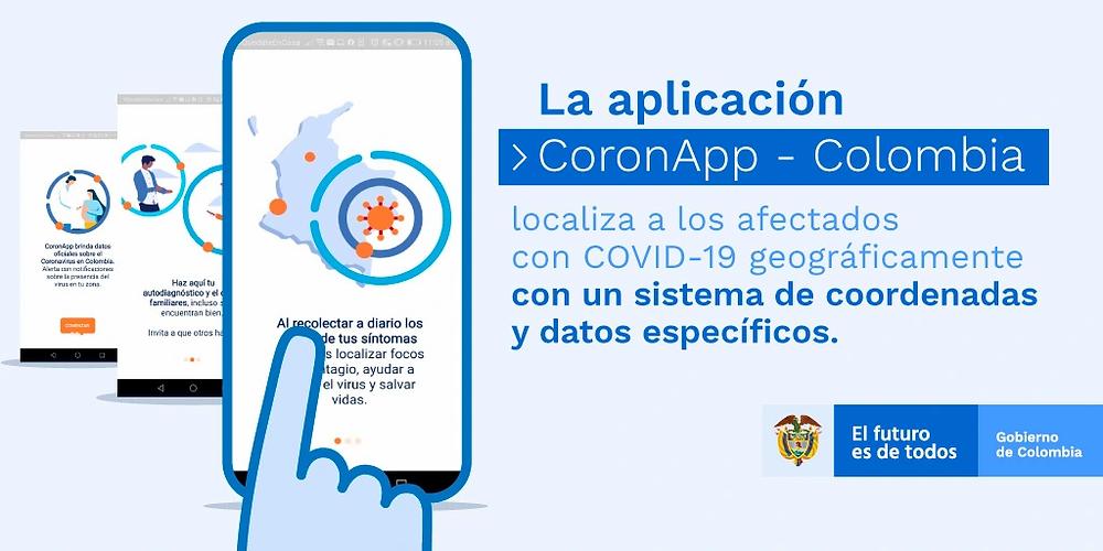 Aplicación CoronApp del Ministerio de Salud y Protección Social