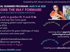 She Designs the Way Forward: Empowering Young Women to Succeed by Leading for Good