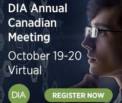 DIA Annual Canadian Meeting October 19-20 Virtual