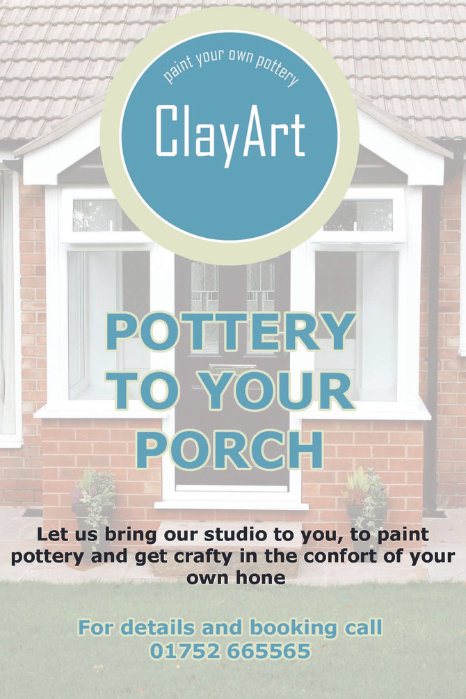 Pottery to your porch