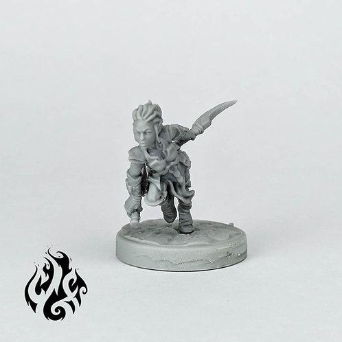Elvanna, Drow Assassin
