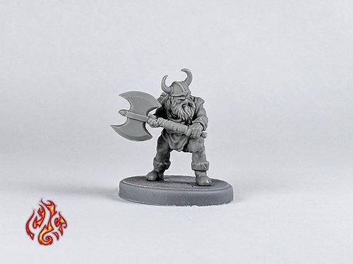 Barbarian, Dwarf