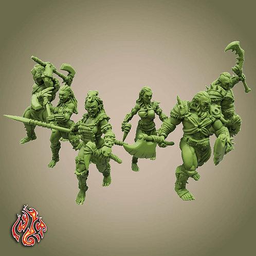 Savage Orc Marauders & Berserkers Pack
