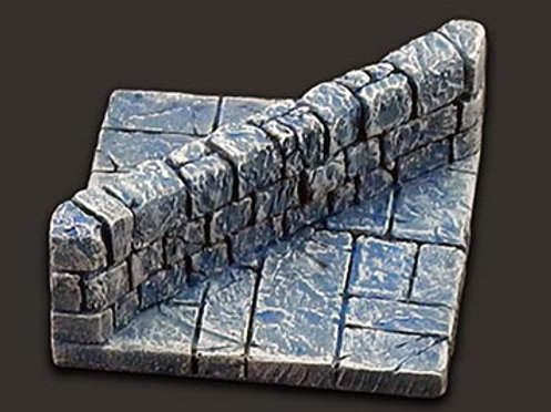 Dungeon Tiles: Diagonal wall
