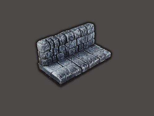 Half Tile with wall