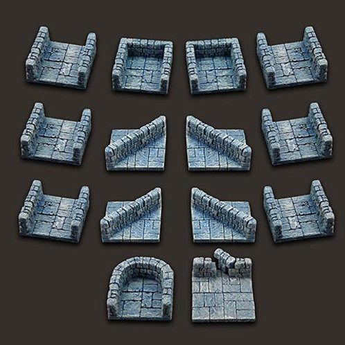 Dungeon Tiles: Corridor Set